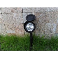High Brightness Led Solar Light Outdoor 3 LEDs Solar Power Spot Light Garden Lawn Lamp Landscape Solar Power Flood Light 5W