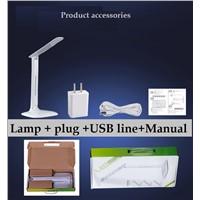 LED eye protection student desk lamp folding LED eye protection desk lamp