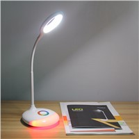 LED Touch Control Adjustable Eye Protection Desk Lamp Children Study Reading Dimmerble Rechargeable LED Table Lamp
