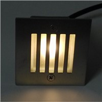 Wholesale price 3W Square Led Corner lamp AC85-265V Cool/Warm White bar/stage/garden floor outdoor Waterproof lighting