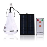 Outdoor/Indoor 20 LED Solar Light Garden Home Security Lamp Dimmable Led Solar Lamp By Remote Controlled Camp Travel Lighting