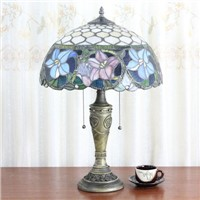 Colorful Glass Vintage table Lamp for bedroom led desk lamp lamparas de mesa