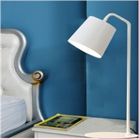 Modern minimalist solid iron LED desk lamps home lighting bedside lamp work and study eye desk lamps