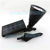 New arrival 4 Led Solar Powered LED Solar light Garden Landscape Lawn Yard Path Spot decor led solar Lamp