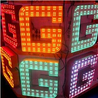 LED Module 5050 SMD 4 Leds High Bright waterproof RGB LED Modules light 50pcs/Lot high power led upgrade module for holidays