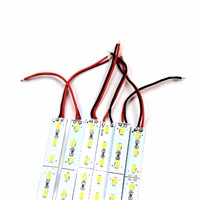 15pcs/lot SMD 5630 0.5m 36 Led strip bar light DC12V LED Hard luces light cabinet Home Kitchen warm/cold white