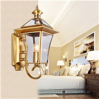 Vintage Bronze Waterproof LED exterior wall lamp outdoor lights sconces rustproof garden outdoor wall lights exterior lamp