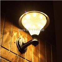 outdoor solar led wall lights warm white waterproof solar lamp Decoration Wall Light LED Light Fixture Garden/Yard/Path/Patio