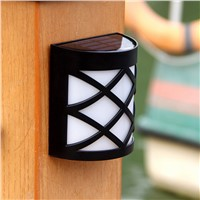 Luminaria LED Solar Panel Light Solar Led Outdoor Wall Lamp Waterproof street Porch lights fence Home Garden Decorative Lighting