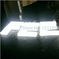 Outdoor Acrylic led front lit letters sign board