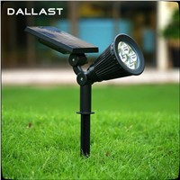 Led Solar Lights Outdoor Solar Pannel Spotlight Garden Lawn Lamp patio light Christmas  Lights Landscape Spot Lights DALLAST