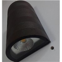 modern brief black led  outdoor wall lamp porch light IP65 waterproof aluminum wall scone lights AC 90-265v A049