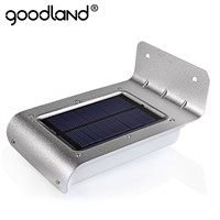 Goodland LED Solar Power Motion Sensor solar garden light Lamp Security Outdoor Lighting garden solar light led solar light
