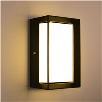 wall light outdoor Porch light Waterproof IP65 for garden decoration  bathroom Modern wall lamps with LED bulbs1158
