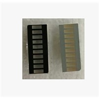 30PCS / LOT  7-Seg LED Nixietube Digital Tube   LED Module  LED Segment Displays  light bar, 10-segment light bar red 20PIN