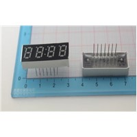 10PCS/LOT 7-Seg LED Nixietube 4 Digital Tube  LED Module  LED Segment Displays 0.28 inches