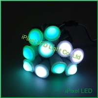 led alu profile corner 16mm Diameter WS2811IC 1pcs SMD 5050 RGBLED outdoor christmas lighted balls