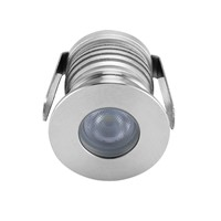 12pcs/lot led underground light 1w recessed led floor lights inground uplight deck light recessed floor light AC12V to 24V