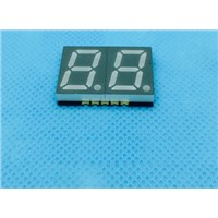 "0.39"" inch SMD  LED,7 segment red SMD led display 2digits"