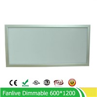 72W 600*1200MM dimmable led panel light ,high quality super bright led panel lamp SMD2835 Office/Home/Hotel lighting