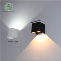 Outdoor lighting light led wall lamp surface wall mounted led wall lamp for pathway, garden, balcony 7W AC85-265V