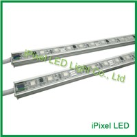 addressable 5050 digital rgb led strip rigid bar with lens