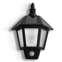 Wall Light Solar Power Motion Sensor Porch Lamp
