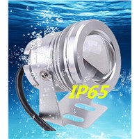 LED RGB Cob outdoor Spotlights waterproof fountain Fish tank Spotlights lawn Underwater Diving lights Toning Colorful 12V10W RGB