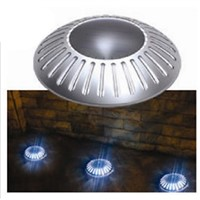 20pcs/lot Solar Lawn Lights Pathway Ground Road deck Lights  for Landscape Garden Fence Garden Stairsway Step lighting
