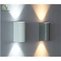 Light LED Outdoor wall light, led wall lamp for  balcony,garden path way  6W Input AC85-265V