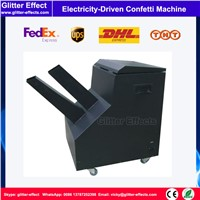Electricity Driven confetti Machine DJ stage special effects Celebration color paper big confetti shooting cannon