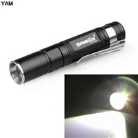 2000LM Waterproof Flashlight LED Pocket Flashlight 3 Modes Zoomable LED Torch Mini Penlight