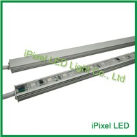 Aluminum profile smd 5050 with lens ucs1903 digital led light bar,full color led rigid bar