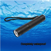 High-quality Mini XML-T6 LED Waterproof Underwater Dive Diving Flashlight Torch Light Lamp For Diving