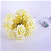 Multi-colored Rose String Light LED Festival Fairy Lights For Christmas Xmas Party Wedding Decoration