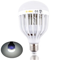 LED Bug Zapper Light Bulb 10W Mosquito Killer Bulb B22 E26/E27 Wasp Bug Mosquito Flying Insects LED UV Lamp