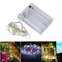 3M Copper Wire LED String lights Waterproof Holiday LED Strip lighting For Fairy Christmas Tree Wedding Party Decoration lamp