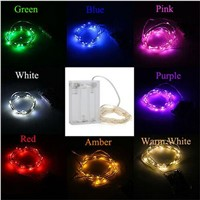 10M 100pcs LED Party Fairy Lights Battery Operated LED String Lights for Wedding Xmas Party Outdoor Indoor Decoration