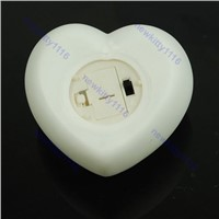 1pc Cute Changing 7 Color LED Heart Candle Party Light Lamp Nice Gifts