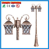 3 meter landscape road light lawn lamp with pillar rod waterproof with  road lamp outdoor street light