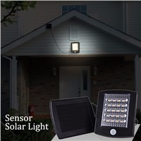 LED Solar Lamp Security Sensor Solar Light 20 LEDs Waterproof for Outdoor Garden Light  street Yard Solar Wall Lamp White