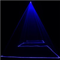 ZjRight IR Remote Laser light DMX512 150mW Blue Laser Scanner Effect Stage Lighting Party Club Show Projector Disco effect Light