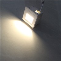 Outdoor lighting recess mounted  led stair wall light for outdoor stair waterproof 3W AC85-265V