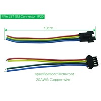 4 pin connectors for apa102 led addressable indivually led pixel strip