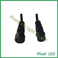 High Quality 5pins bulkhead power LED Lighting waterproof connectors