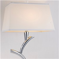 Hot sale Modern minimalist stainless steel table lamp design hotel lobby restaurant lamp E27 LED table lamp