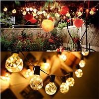 1x G40 Christmas Lights ,Globe String Light 25LED Bulb Outdoor Decorative String Lights for Garden, Patios,Home Decor , Wedding