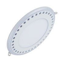 LED Panel Light for Decoration LED Lighting with Remote Control Double Color Ceiling Recessed Downlight Watts 3W/6W/12W/18W