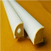 5-15pcs/lot ,40inch 1m led aluminium profile for 10mm PCB board led corner channel for 5050 strip led bar light,YD-1002