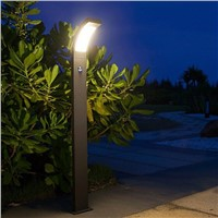 Outdoor Garden Lamp 6w Led light with PIR sensor IP54 high pole lighting fixture